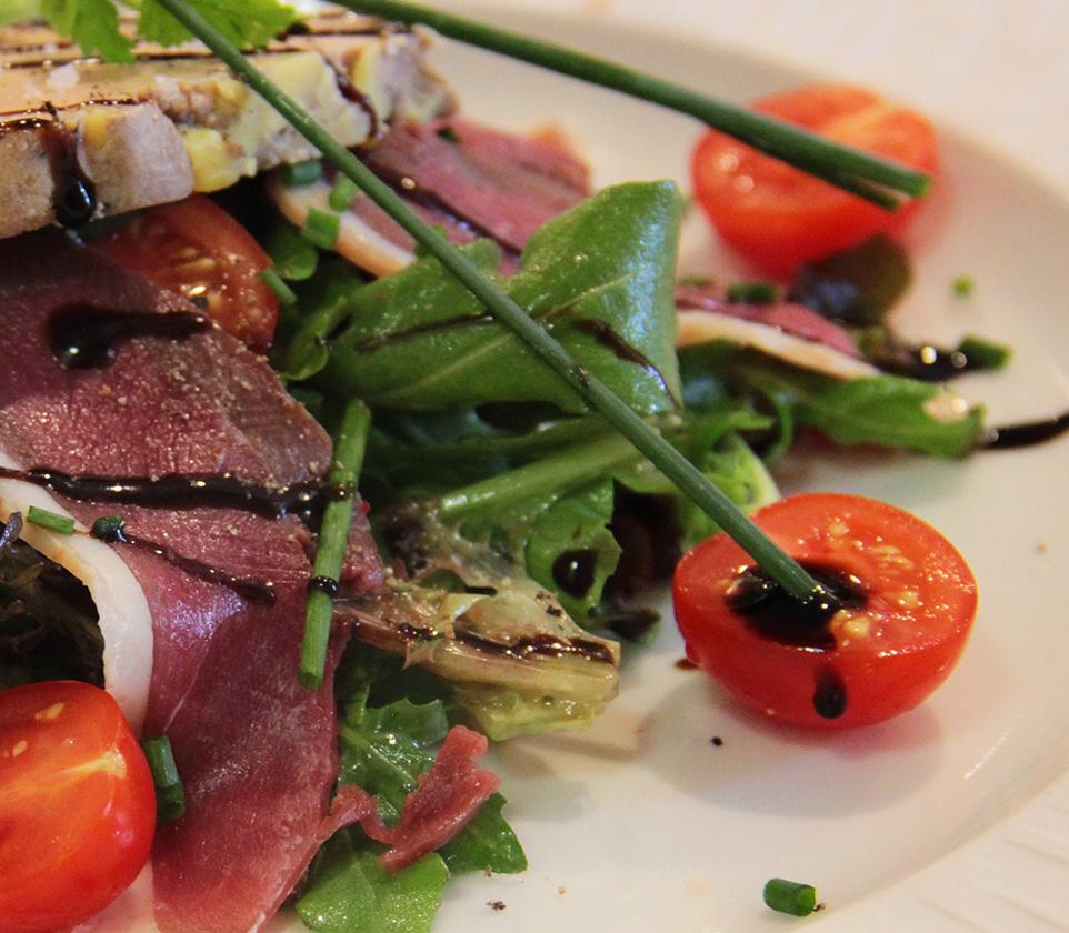 Le Restaurant <br> <span>Un restaurant gastronomique</span>